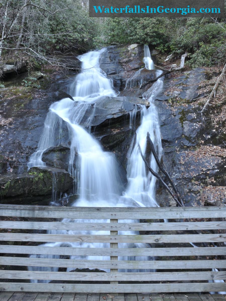 Ammons Creek Falls and boardwalk