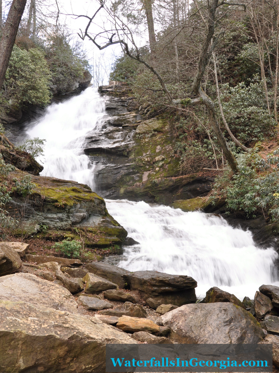 Mud Creek Falls warm
