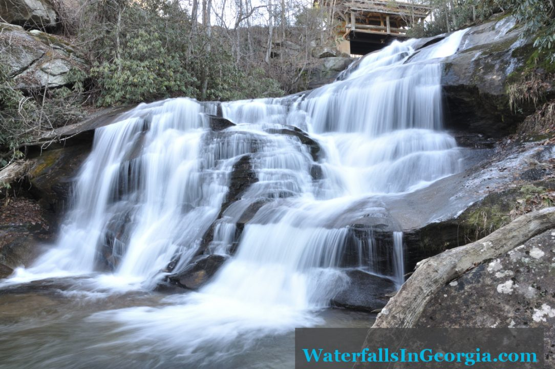 Upper Estatoah Falls wide web