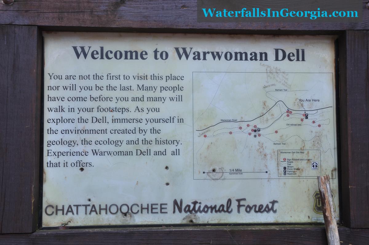 Warwoman Dell Trail Signs web